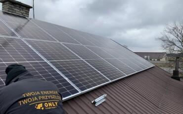 montaż paneli słonecznych Duchny Młode